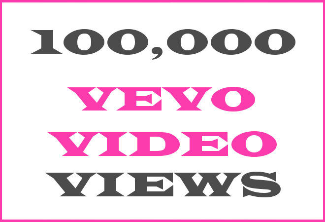 100K Vevo HipHop Video Views
