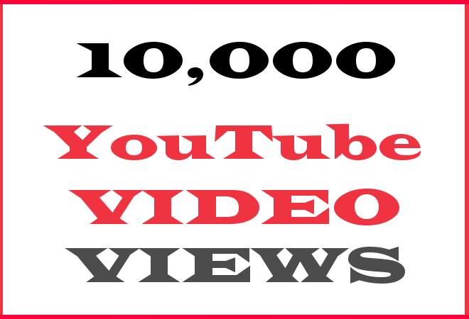 10K YT HipHop Video Views