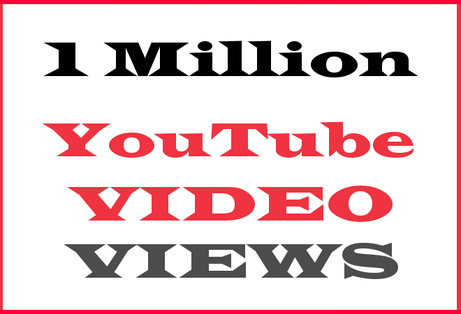 1Million YT Hip Hop Video Views