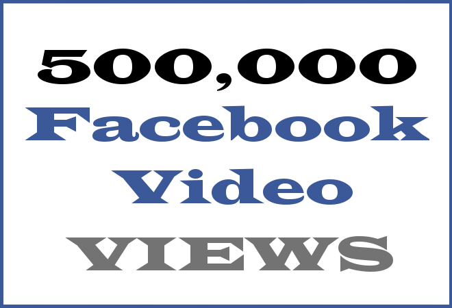 500K FB Hip Hop Video Views