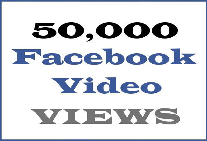 50K FB HipHop Video Views