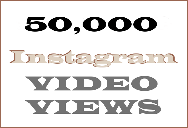 50K Insta HipHop Video Views