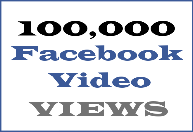 100K FB HipHop Video Views