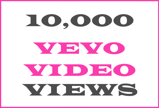 10K Vevo Hip Hop Video Views