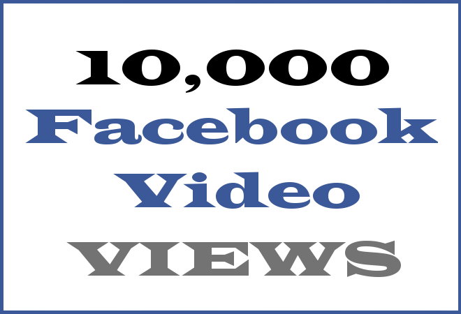 10K FB HipHop Video Views