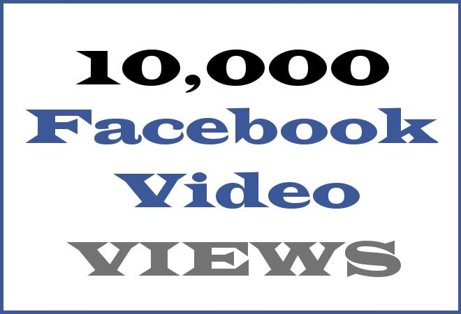 10K FB HipHop Video Views