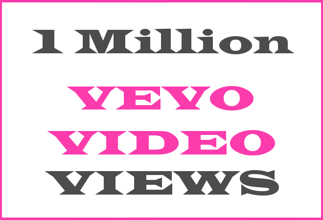 1Million Vevo HipHop Video Views