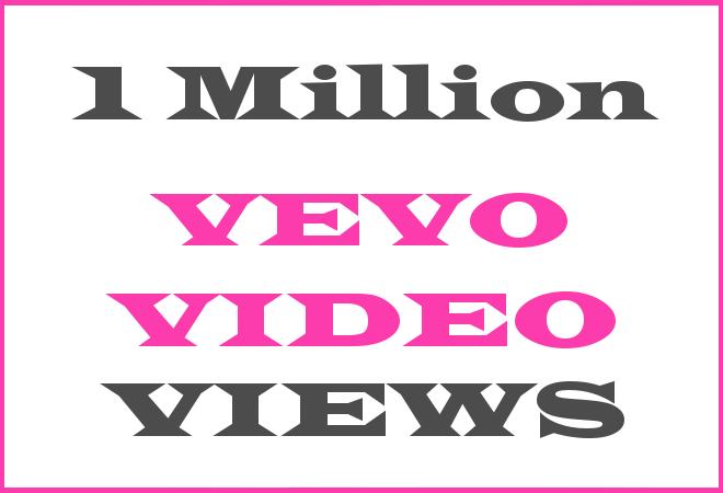1Million Vevo HipHop Video Views