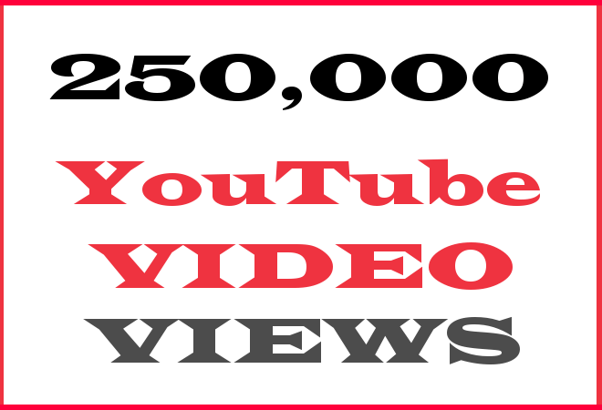 250K YT Hip Hop Video Views