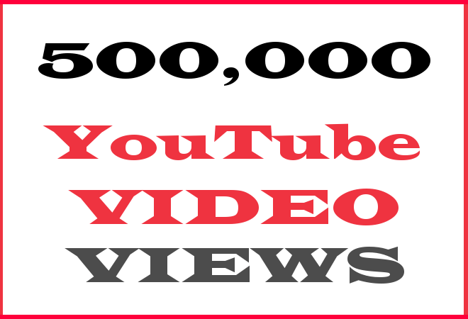 500K YT Hip Hop Video Views