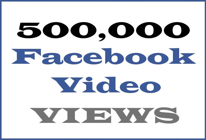 500K FB Hip Hop Video Views