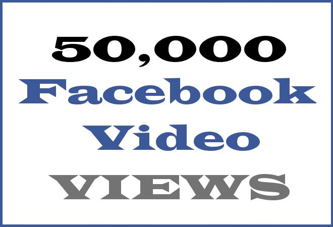 50K FB HipHop Video Views