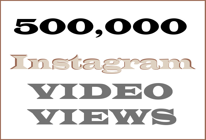 500k Insta HipHop Video Views