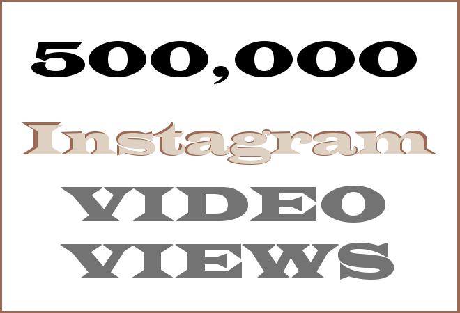 500k Insta HipHop Video Views