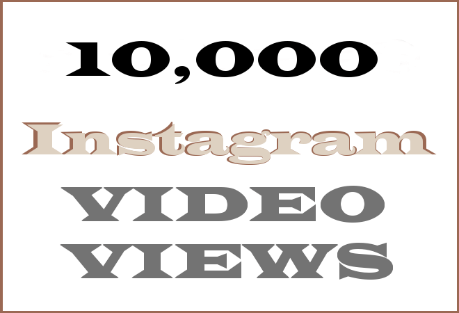10K Insta HipHop Video Views