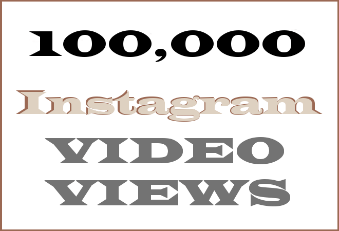 100K Insta HipHop Video Views